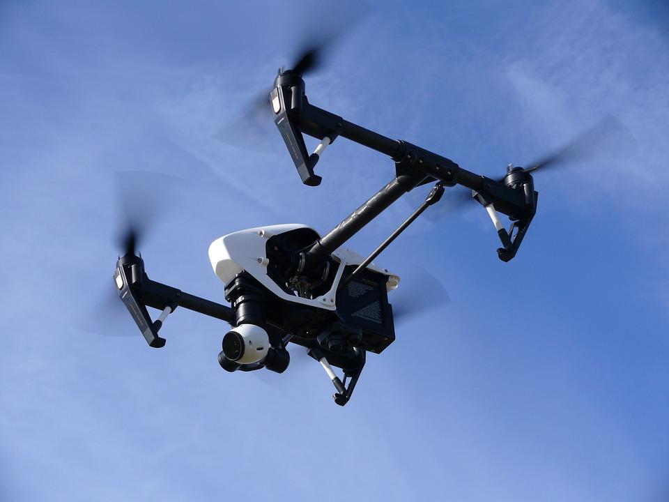 Drones. Fuente: pixabay