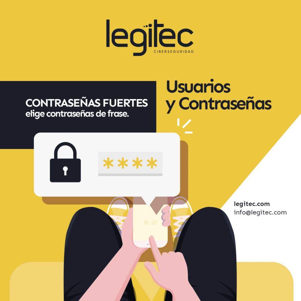 contraseñas seguras ciberconsejos para la seguridad de tus cuentas