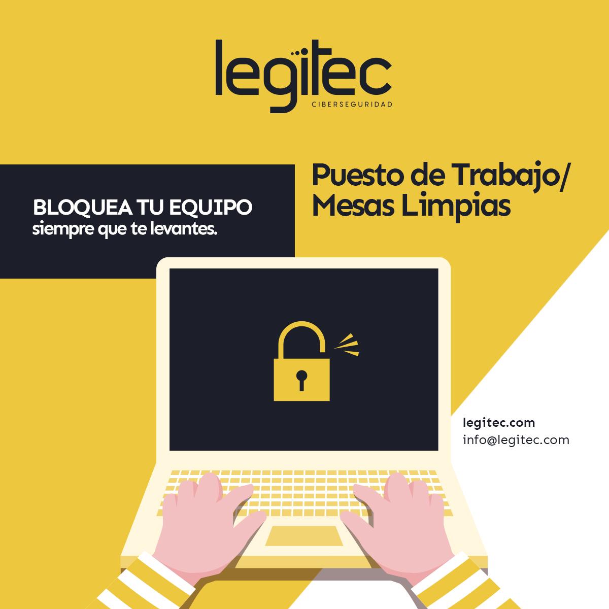 Consejo ciberseguridad puesto de trabajo